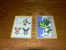 Animal Crossing E-Reader cards for Gamecube, GBA