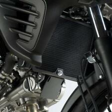 R&G BLACK RADIATOR GUARD for SUZUKI DL650 V-STROM, 2012 to 2018