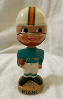 VINTAGE 1960s AFL NFL MIAMI DOLPHINS BOBBLEHEAD NODDER BOBBLE HEAD