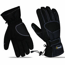 Mens Motorcycle Motorbike Gloves Textile Waterproof Thermal Thinsulate Warm XL