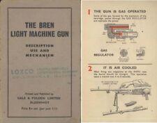 Bren Light Machine Gun c1940 Description, Use & Mechanism (Uk)