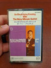 Electrifying evening Dizzy Gillespie  Cassette Tape Jazz Verve Japanese Import