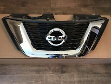 2017 Rogue Front Bumper Grille NON Camera Type With Emblem OEM Upper Grille