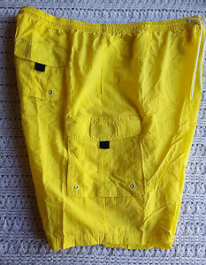 NWOT Mens BIG TALL Board Shorts Swim Trunks Neon KING SIZE Lined