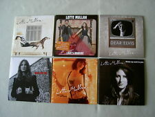 LOTTE MULLAN job lot of 6 promo CD album/singles Love's Bonfire Plain Jane EP