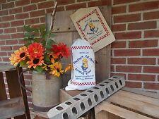Chick feed bag, chicken sack, Flour sack, gift bag, feed sacks, country decor