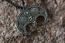 Lunula Lunnitsa necklace - moon talisman lunar amulet protection viking jewelry