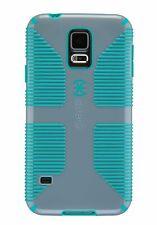 Speck Candyshell Grip Case Samsung Galaxy S5 Nickel Grey Caribbean Blue