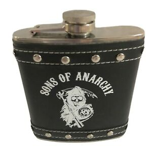 Sons of Anarchy Stainless Steel 8 oz Hip Flask Barware