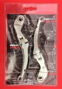 DUCATI PERFORMANCE 848/1098 BILLET JOINTED LEVER SET FOR RADIAL MASTER CYLINDERS