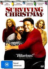 Surviving Christmas 2f DVD Region 4 Ben Affleck James Gandolfini