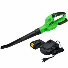Premium 20V Cordless Air Leaf Blower With 2.0A Platform Battery and Charger New
