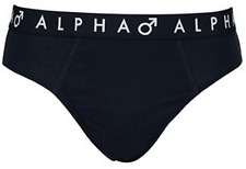 Alpha Men Cotton Brief  M L XL 2XL 3XL 4XL 5XL 6XL 7XL Wide Comfy Waist