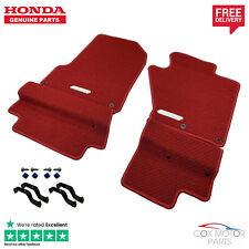 Genuine Honda S2000 Premium Red Carpet Mats (RHD)