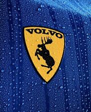 Magnetic 🧲 Genuine Discontinued Traditional Prancing Moose Volvo 3� Vinyl Decal