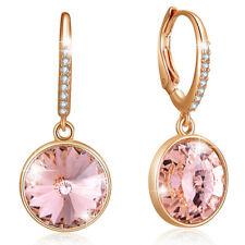 PRECIOUS DROP EARRINGS RG VINTAGE ROSE FT CRYSTALS FROM SWAROVSKI KCE3001RVR