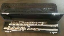 Pearl PF-661 Open Hole Flute W/Split E, Offset G, B foot. Excellence Shape.