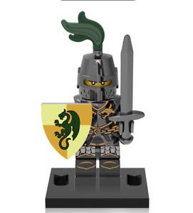 NEW Mini figure DRAGON KNIGHT Swordman Knight 2 Series Minifigure UK STOCK