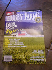 BEST OF HOBBY FARMS VOL 2 2018 MAGAZINE  NEW   FARM LIVING DONE RIGHT