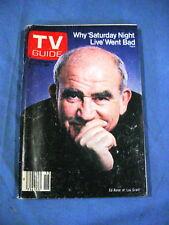 VINTAGE TV GUIDE APRIL 11 1981 ED ASNER SATURDAY NIGHT LIVE JANE ALEXANDER