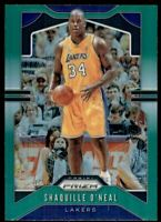2019-20 Panini Prizm Prizms Green #11 Shaquille O'Neal