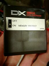 YAMAHA DX Data Cartridge RAM1 Sound storage for DX7 TX 7 Synthesizer