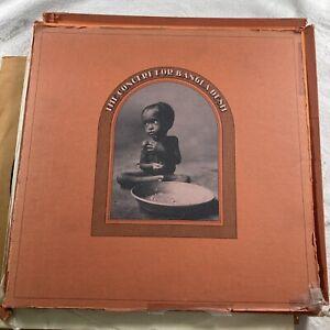 THE CONCERT FOR BANGLADESH (1972) 3 LP UK BOX SET STCX3385 BEATLES