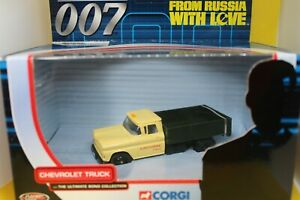 Corgi The Ultimate Bond Collection Chevrolet Truck from, From Russia with Love