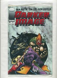 Image/Malibu Comics Darker Image 1 Sam Keith Jim Lee 1st Maxx 1993 Polybag Card