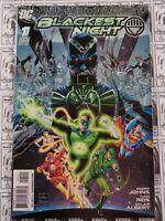 Blackest Night (2009) DC - #1, 1:25 Ethan Van Sciver Variant, Johns/Reis, VF/NM