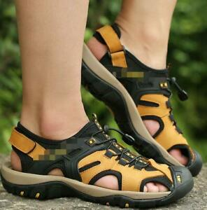 2021 New Men's Closed Toe Athletic Sandals Hiking fashion Sport Sandals