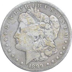 Early - 1899-O Morgan Silver Dollar - 90% US Coin *871
