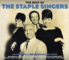 THE STAPLE SINGERS - THE BEST OF - 40 ORIGINAL RECORDINGS (NEW  SEALED 2CD)