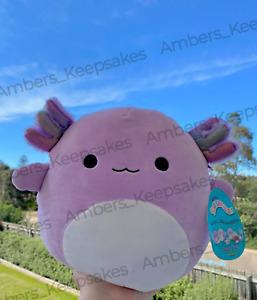 "BNWT Squishmallow RARE, HTF Monica the Axolotl 10"" Plush - AUS Exclusive"