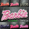 Funky BARBIE NECKLACE Statement Large Name Kawaii Rockabilly Cute Kitsch Emo