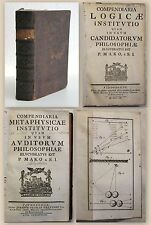Kerek-Gede: compendiaria logicae Code-candidatorum philosophiae 1760 xz