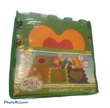 Spark Create Imagine Foam Shapes Puzzle Mat Covers 11 Square Feet,learning
