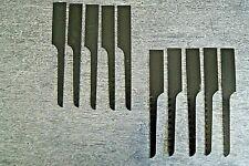 Sägeblatt Sägeblätter Set fein für Druckluft Karosseriesäge 20 tlg Metall Kunsts