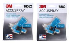 2-3M 16582 1.2MM Accuspray Atomizing Heads Single Blue Spray Gun Tip (2 Tips)