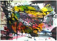 Antonio Maragnani - Tecnica mista su carta, opera originale del 2019