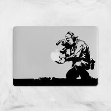 Banksy Decal for Macbook Pro Sticker Vinyl skin air 13 15 11 funny camera flower