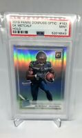 2019 Panini Donruss Optic Rated Rookie Holo Silver Prizm #163 DK METCALF PSA 9