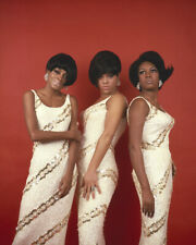 The Supremes Diana Ross Motown Group Pose Matching Dresses 16X20 Canvas Giclee