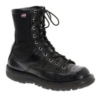 DANNER Acadia Boots 8.5 M Womens Black Leather GORE-TEX Work Military USA VTG