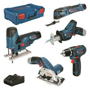 Bosch Akku Set GSR 12 V-15, GST 12 V-70, GOP 12 V-28, GKS 12 V-26, GSA 12 V-14