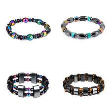 5 Style 1Pcs Men Women Black Gallstone Colorful Bracelet Bracelet Accessories