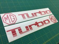 Austin MG Metro / Montego Turbo Rover 1300 decals stickers Side door replacement
