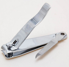 Large Nail Clippers Heavy Duty Thick Finger Toe Cutter + File Manicure Pedicure