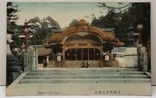Japan Fushimi Inari, Kyoto Hand Colored Photo Early 1900s Postcard E7