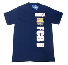 d6be333afdf FC Barcelona Barca Spain Club Team Blue T Shirt 1899 Soccer Futbol Men's  Large L